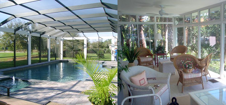Citrus County FL Aluminum Contractor Pool Cages Screen Porch Carport Installation